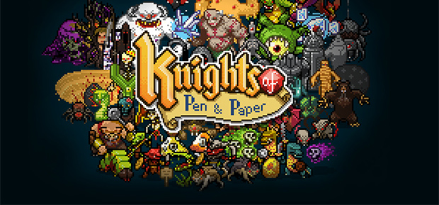 <center>Knights of Pen and Paper (iOS)</center>